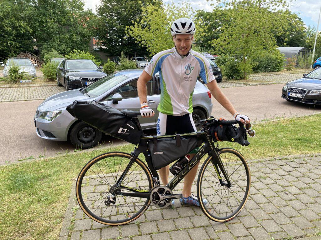 Mitteleuropa Radtour Juli 2020